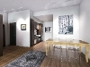 Picture Furnished new york loft-style apartment