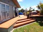 Picture Upgraded refurbished home with huge deck