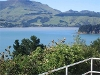 Picture The Green Door - Lyttelton Harbour