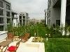 Fotoğraf Mea güzel bahçem evleri̇nde bahçe ve çati kati...