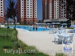 Fotoğraf Çorlu havuzlu si̇tede havuz cepheli̇ satilik...