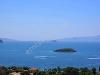 Fotoğraf Kadikalesi̇nde ful deni̇z ve adalar manzarali...