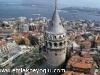 Fotoğraf Beyoğlu galatakulesindeful manzaralı ortak...