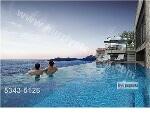 Fotoğraf Oranio homes - sonsuz seyi̇rli̇ havuzda gün...