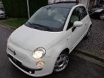 Photo Fiat 500 1.4i lounge 1er prop/ carnet fiat/...