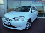 Photo 2015 Toyota Etios 1.5 Xs 5-door, White with...