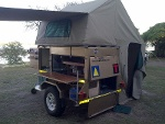Photo Camping trailer / sleepwa for hire / rent huur