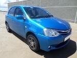Photo 2012 Toyota Etios hatch 1.5 Xs (Used)